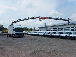 Schiebeplanen-LKW Mercedes Benz Actros 2636 L KRAN 6X4 Palfinger PK 27002 +PJ060 2006