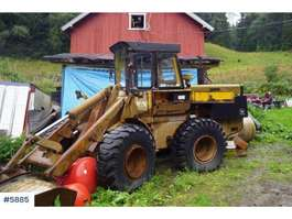 wheel loader John Deere JD644-B 4x4 wheel loader 1985