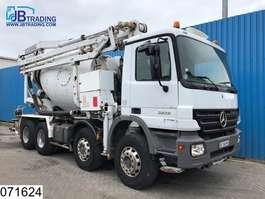 camion à bétonnière Mercedes Benz Actros 3241 8x4, Schwing 21 mtr, Pumi, Concrete mixer pump, 2 x Remote c... 2006