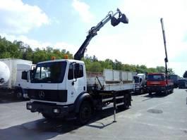 tipper truck > 7.5 t Mercedes Benz 18.24 tipper 3-way + HIAB 077B 1994