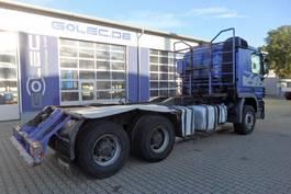 timber truck AUFBAU SZM Holztransporter 4.20/ 5,52 m Radstand