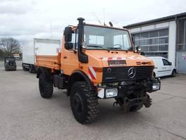 tipper truck > 7.5 t Unimog U 1650 427/21 - AHK SFZ 1995