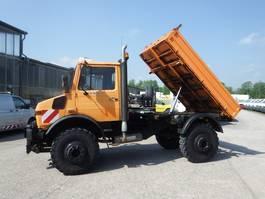 tipper truck > 7.5 t Unimog U 1650 427/21 KIPPER - AHK SFZ 1995