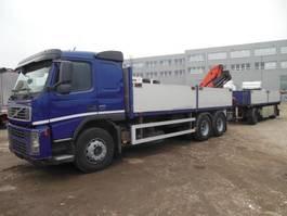 platform truck Volvo FM 13/440, 6X4, KRAN PALFINGER 15500 2007