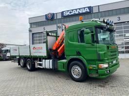 Pritsche offen LKW Scania Grua Palfinger PK14500 2004
