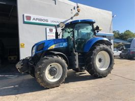 trator agrícola New Holland t6080 2012
