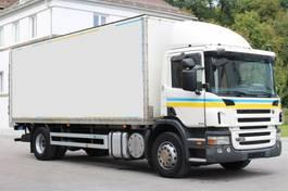 camión de caja cerrada > 7.5 t Scania P320 Kleider Textil E5 LBW 2009