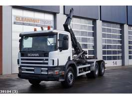 container truck Scania P 114.380 6x4 Manual Full Steel 2001