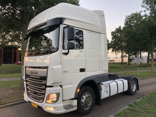 cab over engine DAF XF 460 SSC 2015  LOW KILOMETERS !!! 2015