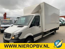 closed box lcv < 7.5 t Mercedes Benz sprinter 513cdi bakwagen laadklep 2014