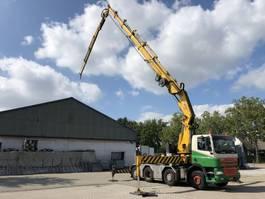 crane truck DAF XF85.430 -KRAN/CRANE HIAB 80 T/M + JIB - TOP CONDITION 2006