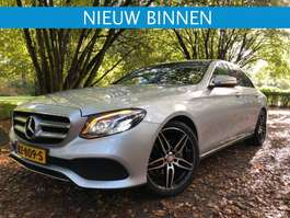 sedan car Mercedes Benz E 220D 194 PK  GARANTIE PRIJS EX BPM  / EX BTW 2016