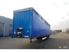 sliding curtain semi trailer Krone SD 2008