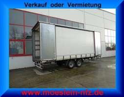 tilt trailer Möslein TP 11 Schwebheim  Tandem- Schiebeplanenanhänger zum Durchladen 2015