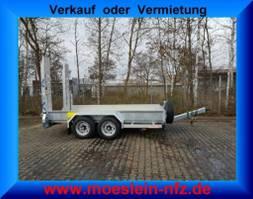 lowloader semi trailer Möslein TT 6-E4x2  5 t bis 6,5 t GG Tandemtieflader,Feuerverzinkt 2021