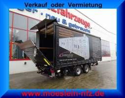 tilt trailer Ackermann Z-PA-F 11,9/7,4 E  Tandemplanenanhänger mit Ladebordwand 2012