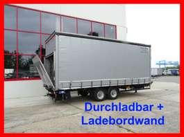 tilt trailer Möslein TPS 105 D-L  Tandem- Planenanhänger, Durchladbar + LBW 2015