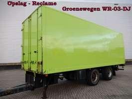 closed box trailer Stalling - Reclame Aanhangwagens - Wipkarren