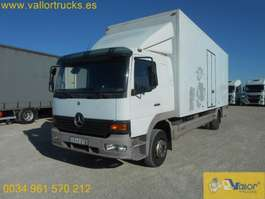 closed box truck Mercedes Benz ATEGO 1223 2000