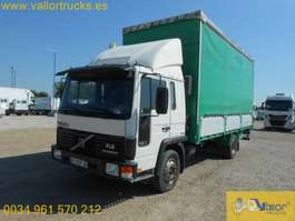 closed box truck Volvo FL6 12 1996