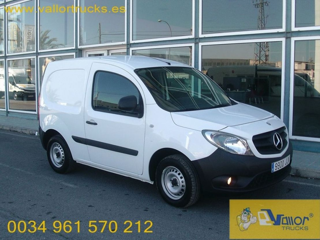 closed lcv Mercedes Benz CITAN 108 CDI 2015