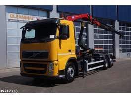 container truck Volvo Volvo FH 420 6x2 Intarder HMF 9 ton/meter laadkraan 2013