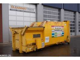 open top shipping container Schenk perscontainer 2005