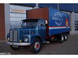 closed box truck Scania LS 85 S 50 6x2 in concours staat 1969