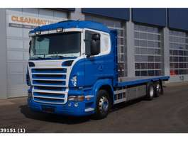 platform truck Scania R 480 Euro 5 Retarder 2009