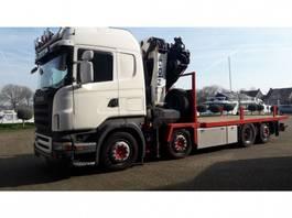 crane truck Scania R420 8x2*6 euro 4 2005