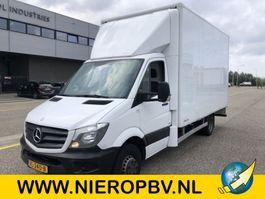 closed box lcv < 7.5 t Mercedes Benz Sprinter Bakwagen 516cdi 130000km airco navi 2014