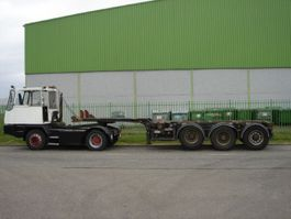 Container-Fahrgestell Auflieger Kromhout multi containerchassis 1x20 ft 2x 20 ft 1x 40 ft 1x 30 ft