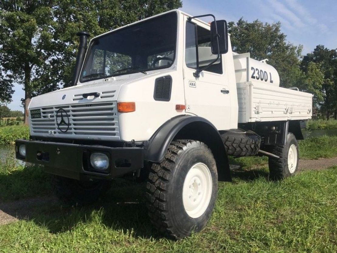 Mercedes Benz Unimog U1300 4   Army truck - Trucksnl.com