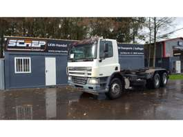 tipper truck DAF CF360 - 6x4 - Manual - Retarder 2004