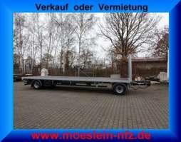 flatbed full trailer Möslein T 2 Plato 8,6m  2 Achs Jumbo- Plato- Anhänger 2020