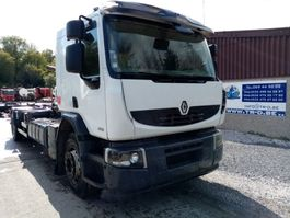 container truck Renault LANDER 410 DXI HAAKSYSTEEM/AMPLIROLL 2009