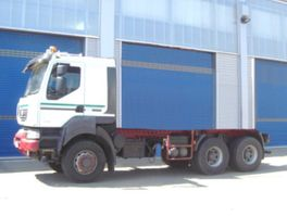 chassis cab truck Renault Kerax 450.26 6x6  Standheizung/Klima/Tempomat 2008