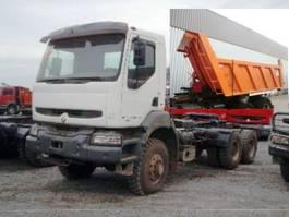 tipper truck > 7.5 t Renault Kerax 350.34   6x6  Umweltplakette Rot 2001
