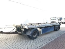 Container-Fahrgestell Anhänger BAA 18 Kombianhänger BRUNS BAA18 Kombianhänger Absetzer/Abroller 2007