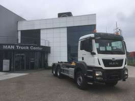 camion conteneur MAN TGS 33.470 6x4 BB-M 3x containerhaak wb 3900 & 3600mm 2019