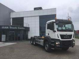 container truck MAN TGS 33.470 6x4 BB-M 3x containerhaak wb 3900 & 3600mm 2019