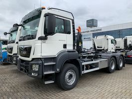container truck MAN TGS 33.470 6x4 BB-M containerhaak wb 3900mm 2020