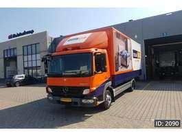 camião de caixa fechada Mercedes Benz Atego 816 Day Cab, Euro 5, NL Truck 2010