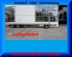 Plattform Anhanger Möslein T 3 Plato 10,5 m  3 Achs Jumbo- Plato- Anhänger 10,50 m, Mega 2020