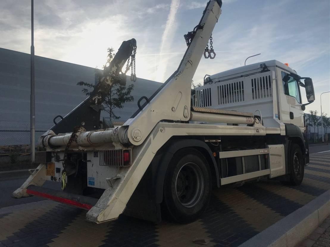 container truck MAN TGS 18.360 4x2 BL Portaalarm 14 ton 2018