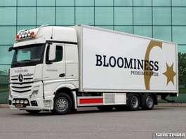 camion refrigerato Mercedes Benz ACTROS 2842 GIGASPACE 6X2  EURO 6  CARRIER  26 CC LZV GESCHIKT 2014
