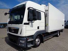 refrigerated truck MAN TGL 12 220 + CARRIER SUPRA 750 + EURO 6 + REMOVABLE WALL + NL TRUCK 2014