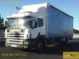 sliding curtain truck Scania 94D220 2001