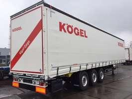 sliding curtain trailer Kögel 3 as schuifzeil 2019
