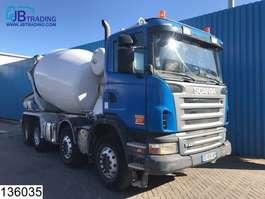 concrete mixer truck Scania G 420  8x4, Stetter , 9 M3 Beton / Concrete mixer, Steel suspension, Man... 2008